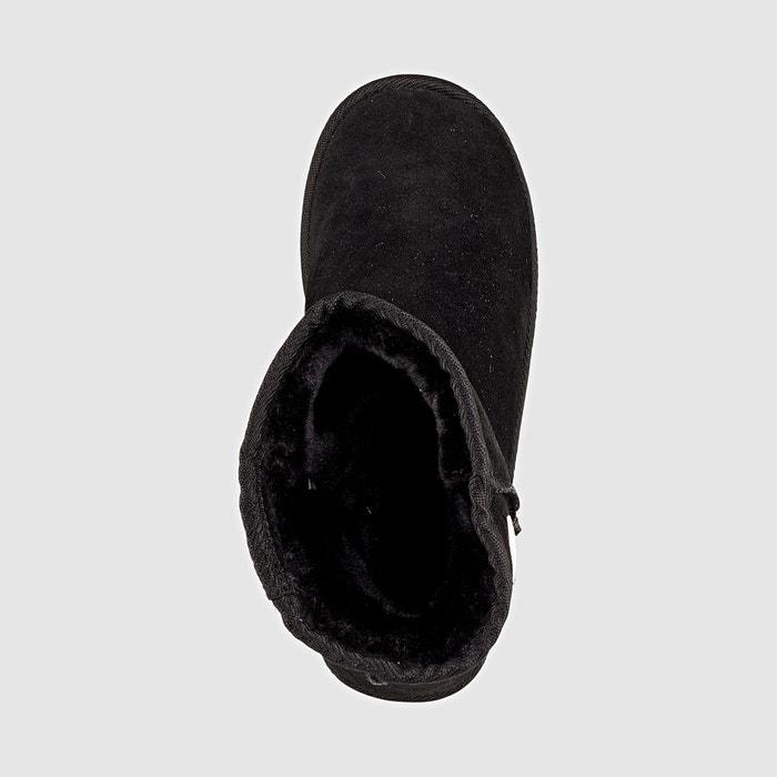 Boots cuir fourrées snow Les Tropeziennes Par M Belarbi