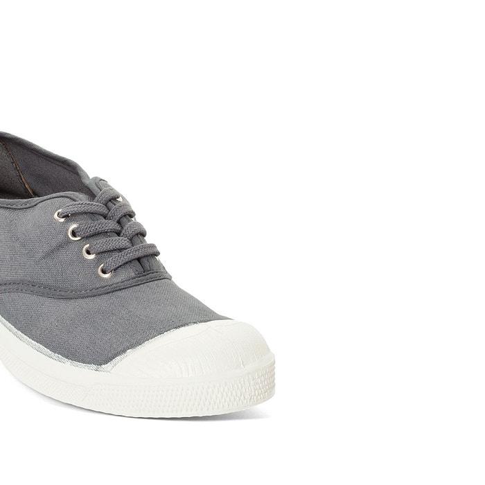 baskets basique lacets bensimon gris la redoute. Black Bedroom Furniture Sets. Home Design Ideas