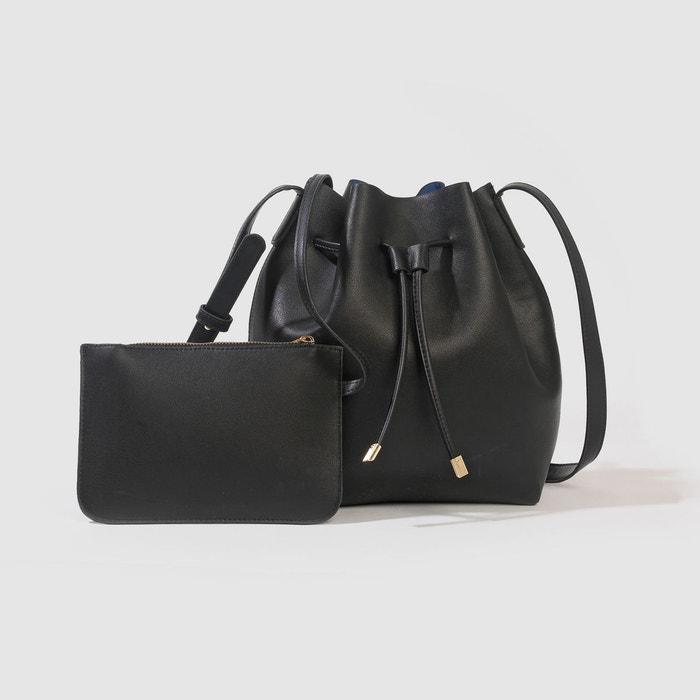 sac seau noir la redoute collections la redoute. Black Bedroom Furniture Sets. Home Design Ideas