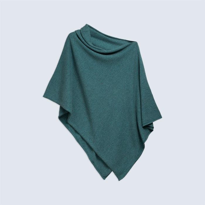 poncho court 230 vert chine kujten la redoute. Black Bedroom Furniture Sets. Home Design Ideas