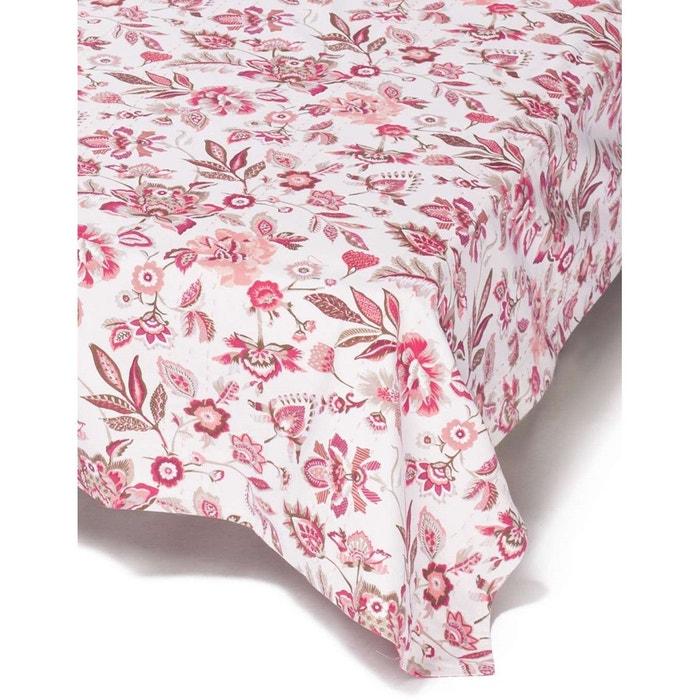 jet de lit surpiqu biprint 140 x 140 cm rose fushia la fiancee du mekong la redoute. Black Bedroom Furniture Sets. Home Design Ideas