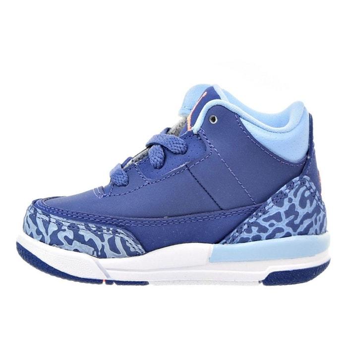 best sneakers 1032a d4a3f Basket nike air jordan 3 retro td bébé - 654964-506 violet Nike   La Redoute