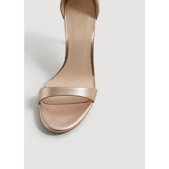 MANGO MANGO à Sandales à talon talon métallisées Sandales Sandales MANGO métallisées tgYwS5xqO