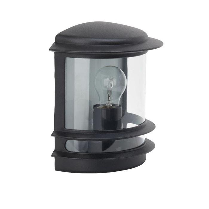 Hollywood applique d 39 ext rieur noir h25cm luminaire d for Luminaire exterieur noir