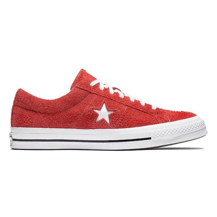 Baskets one star og rouge Converse