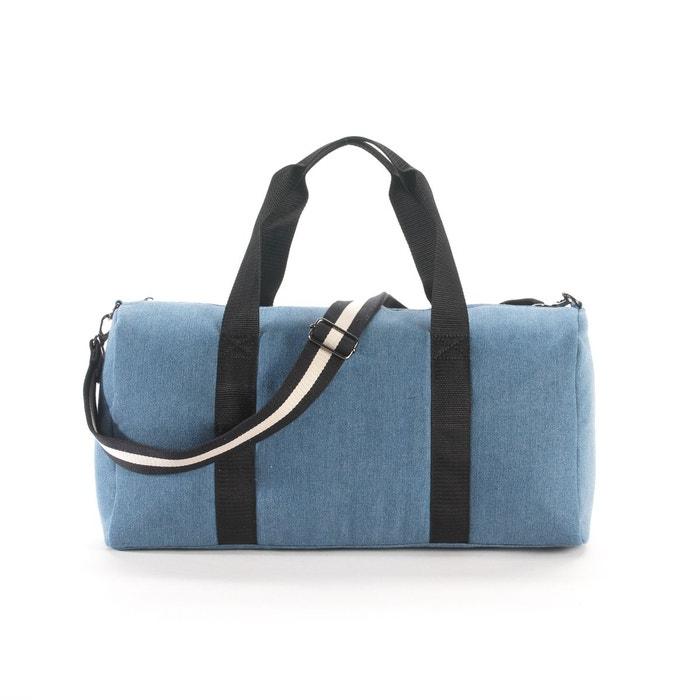 sac de voyage week end bleu jean la redoute collections la redoute. Black Bedroom Furniture Sets. Home Design Ideas
