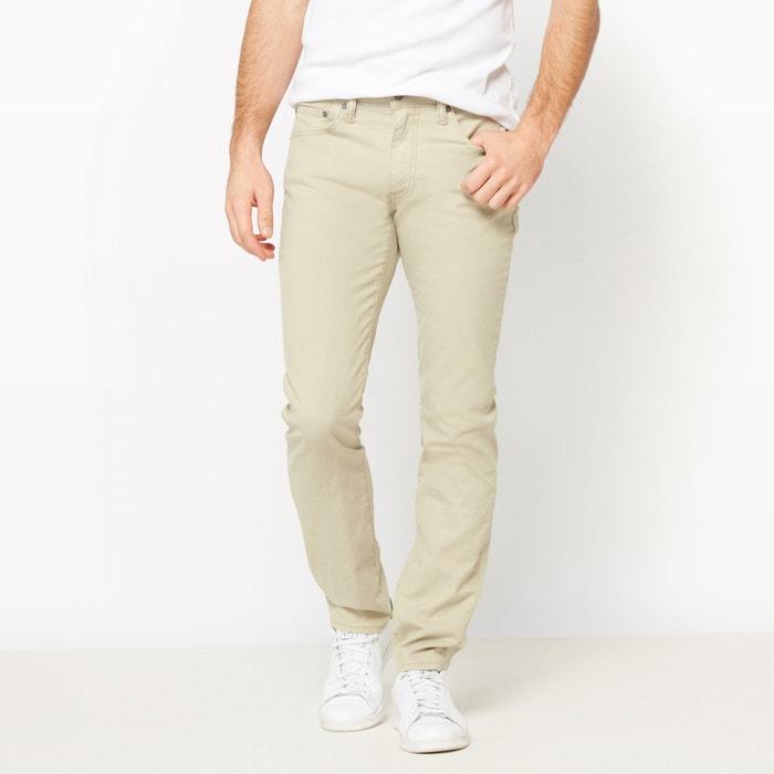 afbeelding Slim broek 511® in katoen en linnen LEVI'S