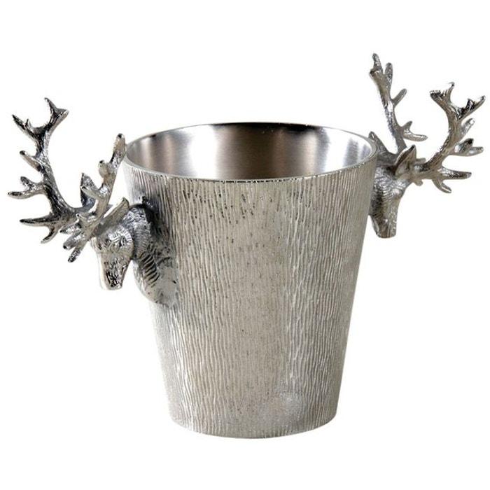 Seau à champagne cerf en aluminium AUBRY GASPARD