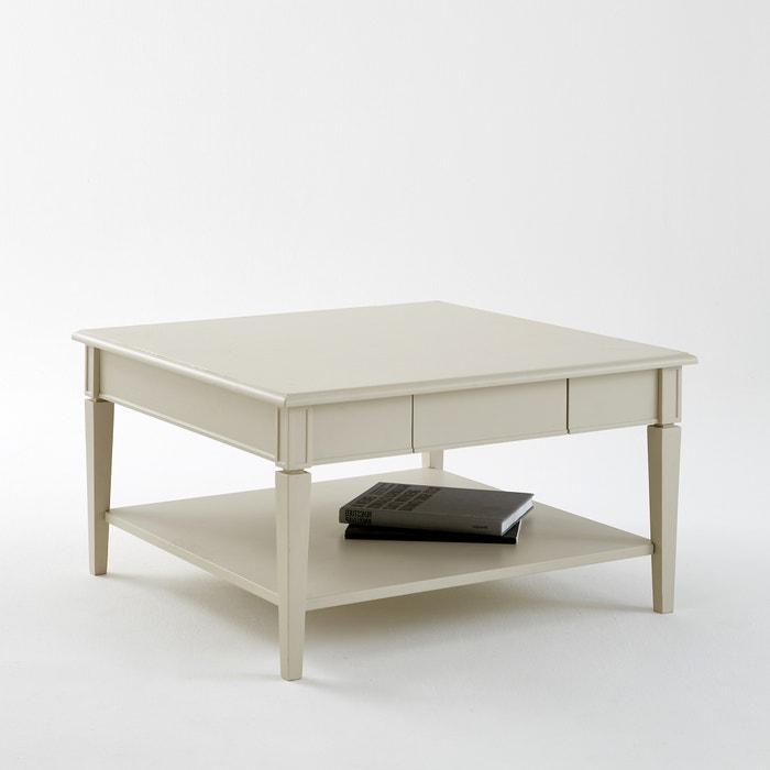 afbeelding Vierkante salontafel met 1 lade, Adélia La Redoute Interieurs
