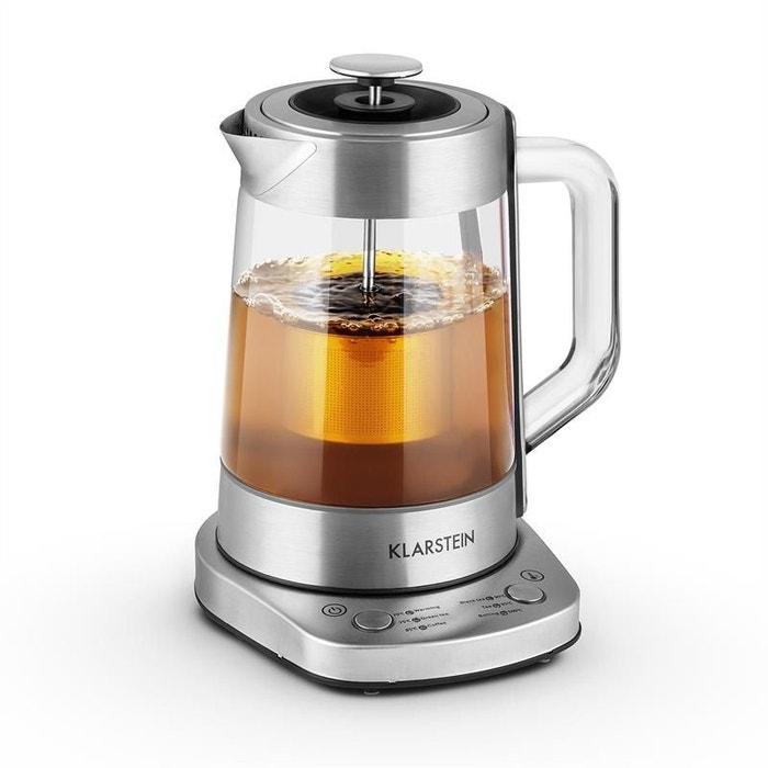 Assam express bouilloire lectrique th i re 1 5 litre 1500w acier autre klarstein la redoute - Bouilloire electrique 1 litre ...