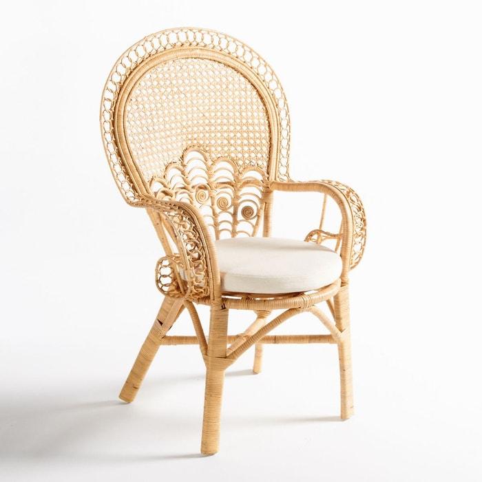 fauteuil rotin malu naturel la redoute interieurs la redoute. Black Bedroom Furniture Sets. Home Design Ideas