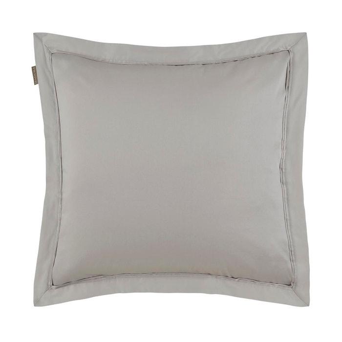 taie d 39 oreiller coton aurore beige clair beige clair. Black Bedroom Furniture Sets. Home Design Ideas