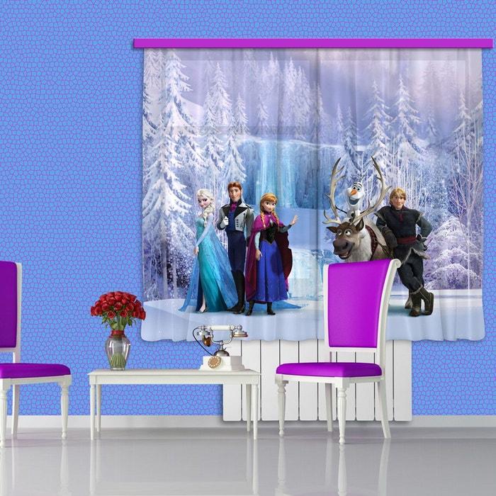 Voilage personnages la reine des neiges disney voilage - Personnages reine des neiges ...