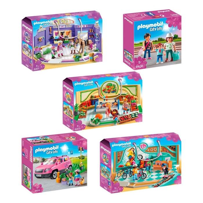 02 03 04 Shopping 05 5 Boites Set Life 9401 Playmobil City ED2HIWe9Y