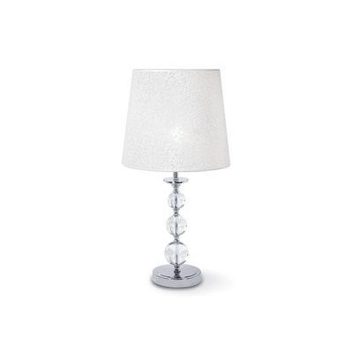 lampe poser step big blanc 1x60w ideal lux 026862 boutica design la redoute. Black Bedroom Furniture Sets. Home Design Ideas