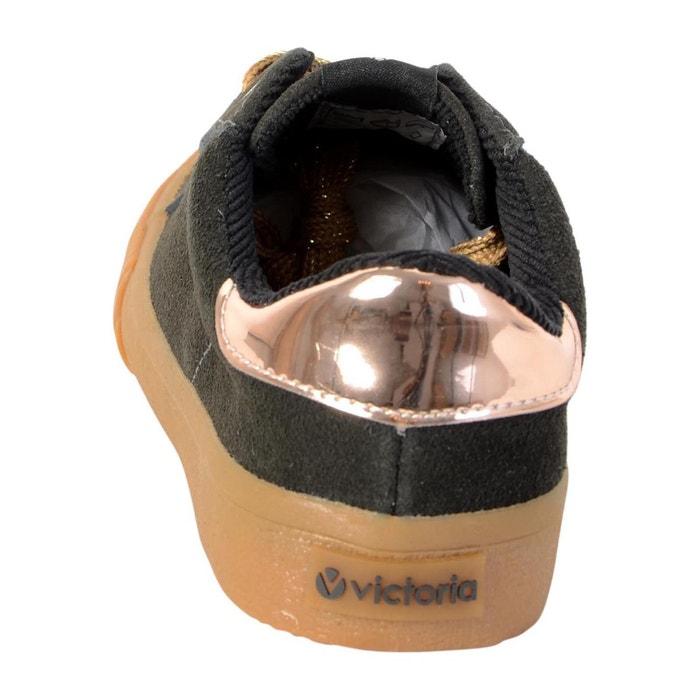 Chaussure anthracita gris Victoria