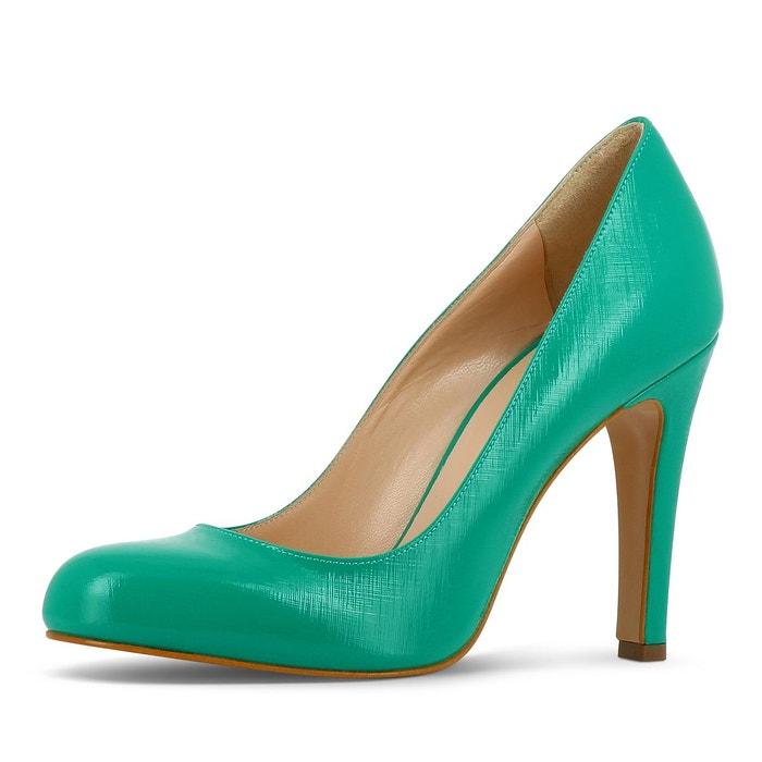 Escarpins femme vert Evita