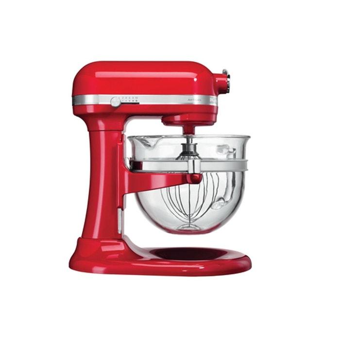 robot patissier artisan 5ksm6521xeer rouge empire rouge kitchenaid la redoute. Black Bedroom Furniture Sets. Home Design Ideas