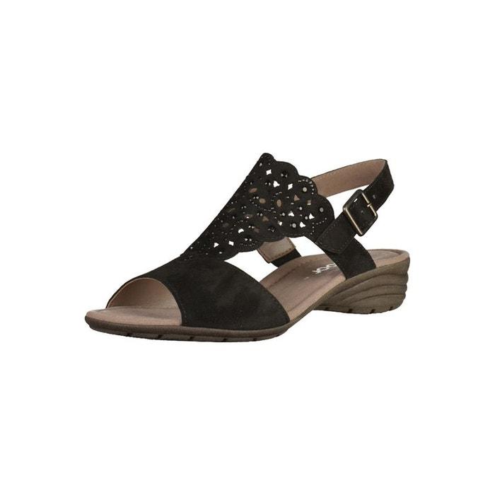 Sandales noir Gabor Faire Acheter La Vente En Ligne Jeu Manchester Grande Vente pY0VilT