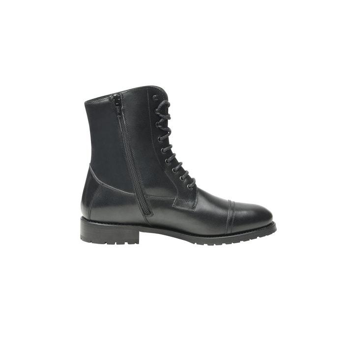 Boots captoe en noir noir Shoepassion meilleur fiable W2H4kg
