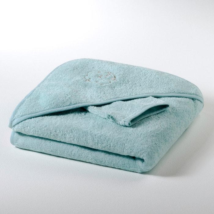 afbeelding Badcape + washandje 420 g/m², Betsie R baby