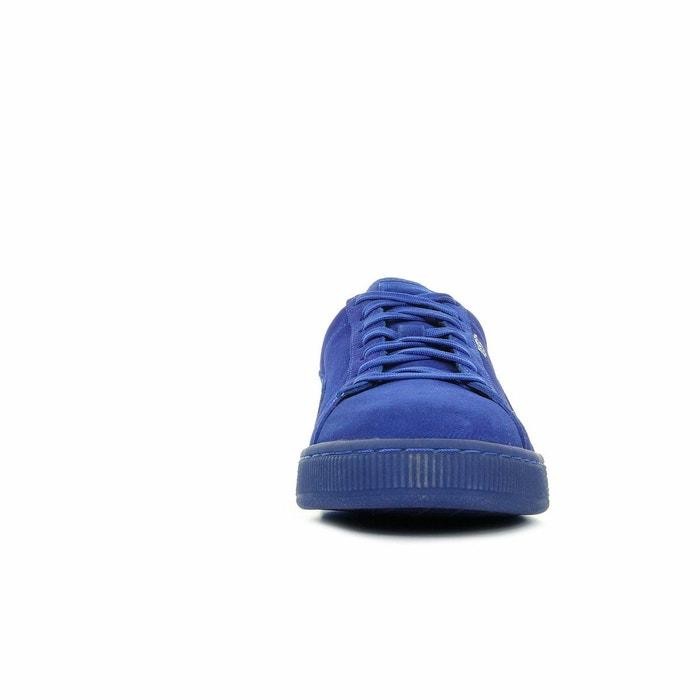 Baskets homme suede classic mono bleu Puma