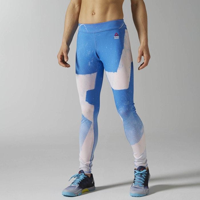 leggings reebok crossfit reversible chalk bleu reebok sport la redoute. Black Bedroom Furniture Sets. Home Design Ideas