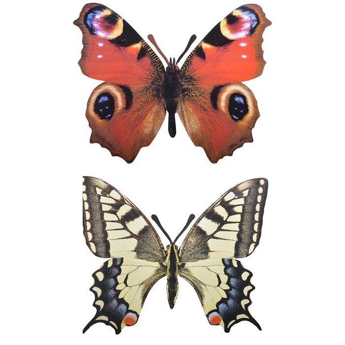 Décoration murale papillon lot de 2 esschert design