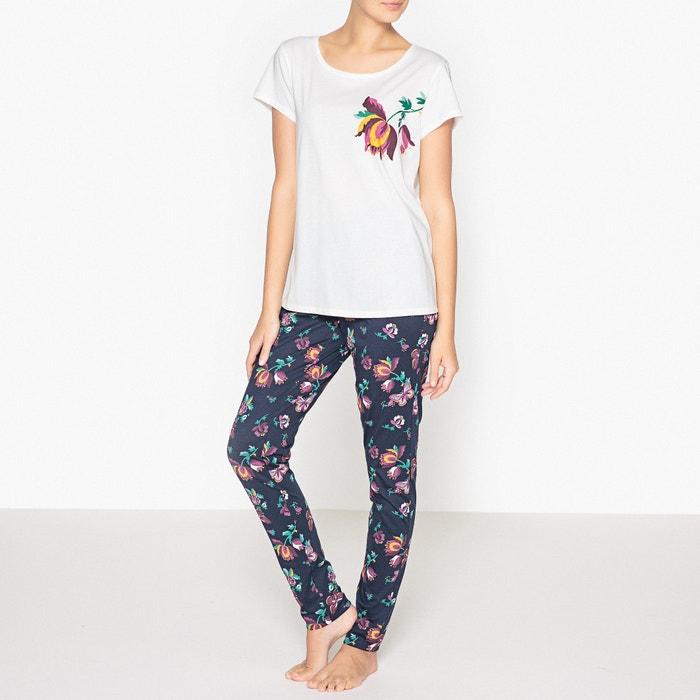 Image Pyjama imprimé fleuri en coton La Redoute Collections