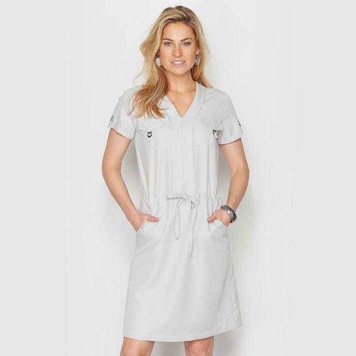 Imagen de Vestido de microfibra con toque piel de melocotón ANNE WEYBURN
