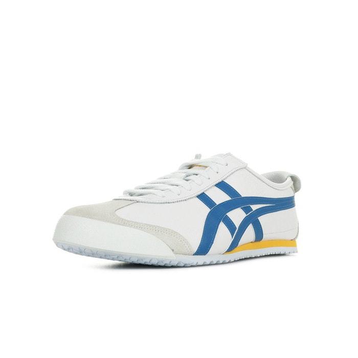 a9b34979e1df Baskets mexico 66 blanc, bleu, jaune Onitsuka Tiger   La Redoute