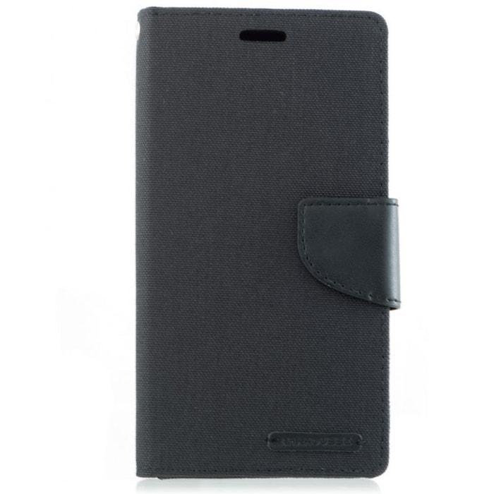 housse portefeuille noir pour zenfone 4 ze554kl noir