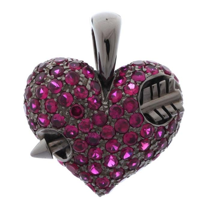 qualité Pendentif femme my only one violet/gris Heartbreaker | La Redoute Livraison Gratuite Meilleurs Prix Original Jeu 8HASD