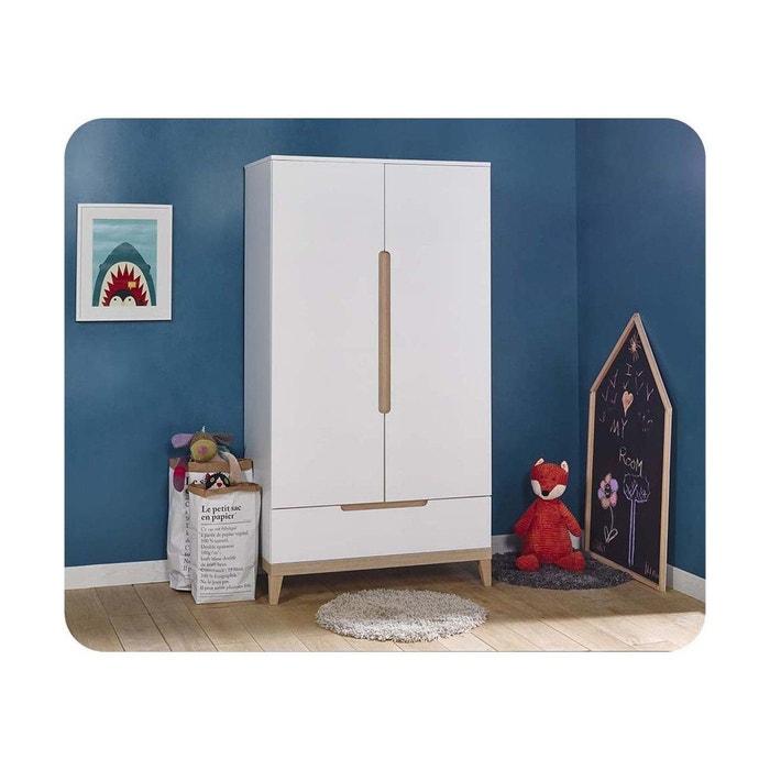 armoire enfant riga blanc ma chambre d 39 enfant la redoute. Black Bedroom Furniture Sets. Home Design Ideas