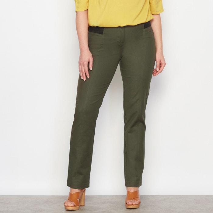 Image Ingenious Straight Cut High Waist Trousers CASTALUNA