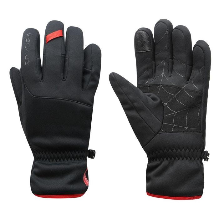 Gants de ski respirant noir Spyder | La Redoute Professionnel De Jeu wISOL2fXf
