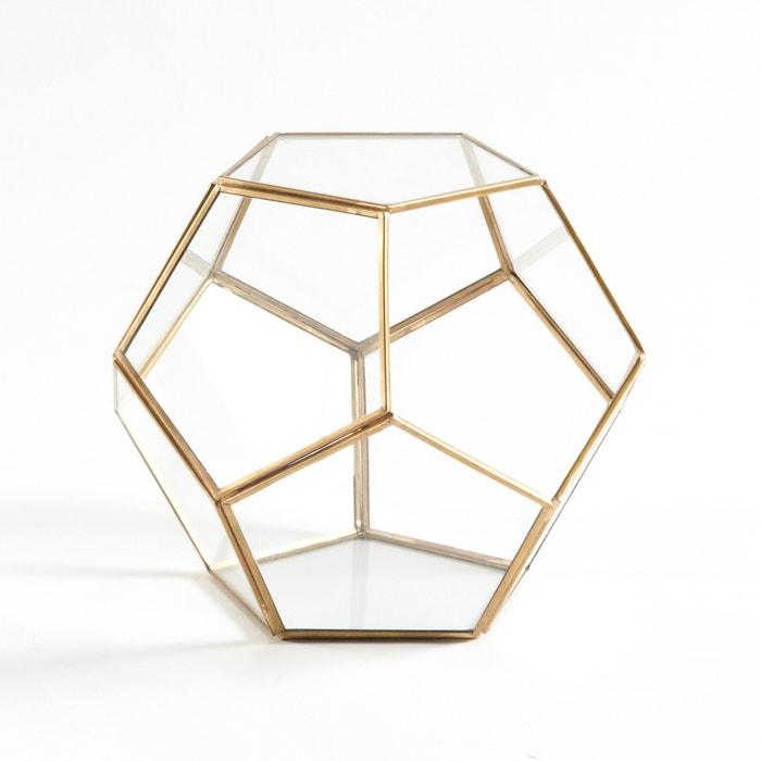 Terrario in vetro e metallo Uyova  La Redoute Interieurs image 0