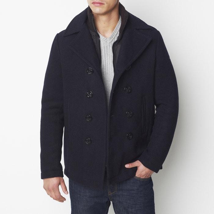 Image Caban mi-long en laine, plein hiver SCHOTT
