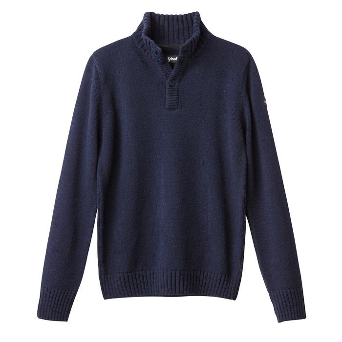 afbeelding Trui in grof tricot SCHOTT