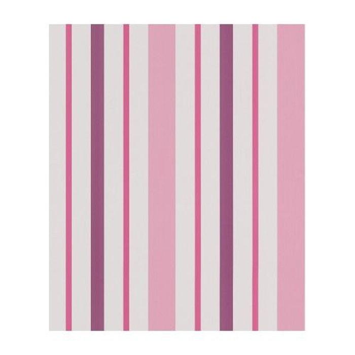 papier peint ray rose et prune rose home maison la redoute. Black Bedroom Furniture Sets. Home Design Ideas