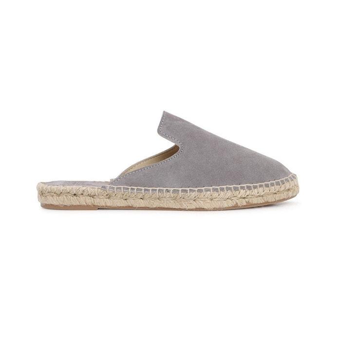 Sabot ingrid  gris Polka Shoes  La Redoute