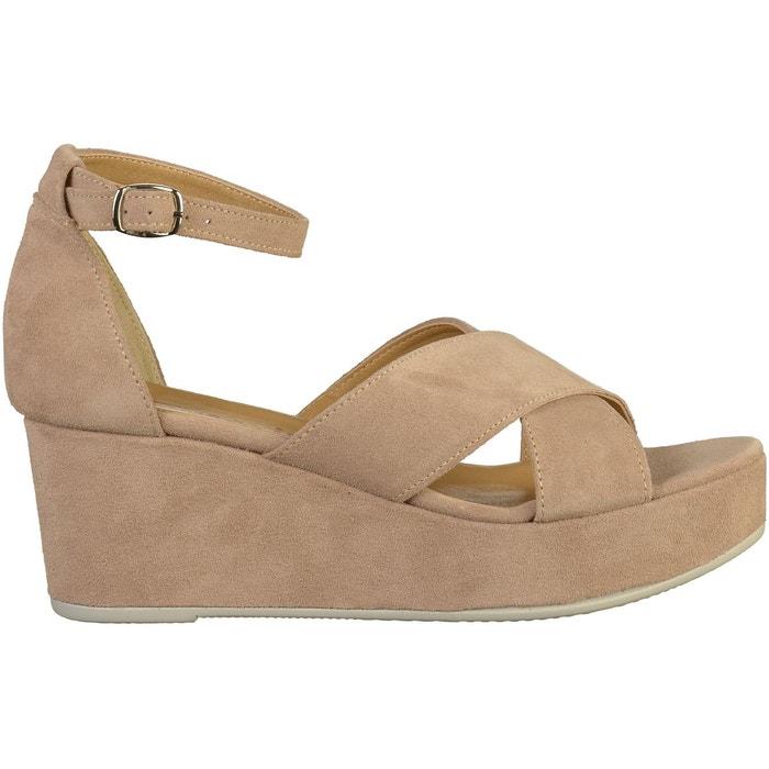 Sandales taupe Tamaris