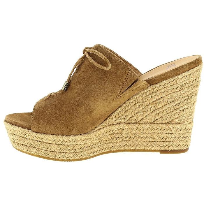 Sandales et nu-pieds ugg w georgia noisette Ugg