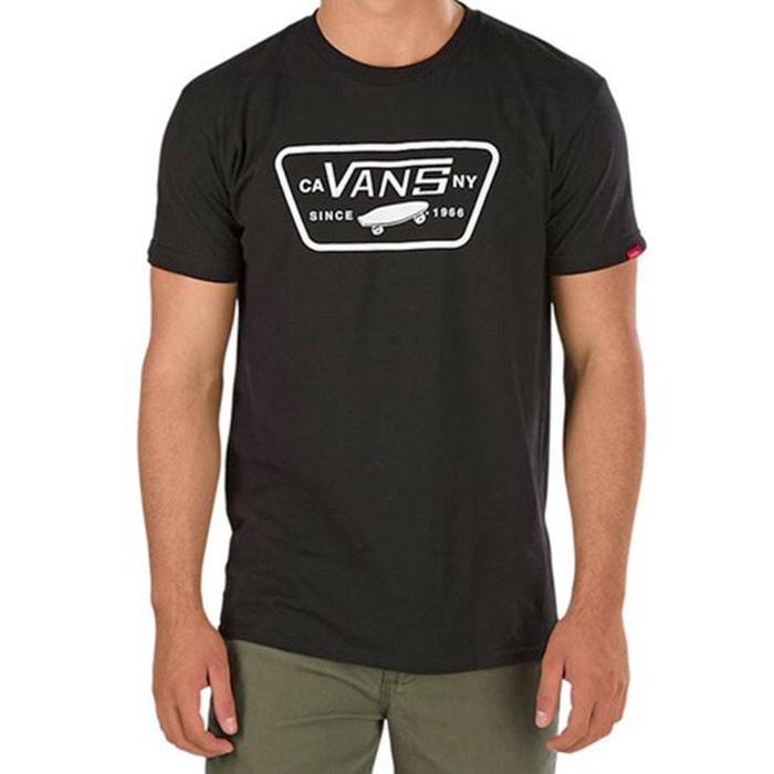 Image Plain Short-Sleeved Crew Neck T-Shirt VANS