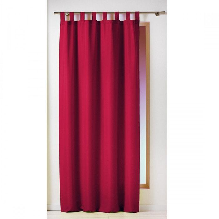 rideau passants uni douceur d interieur la redoute. Black Bedroom Furniture Sets. Home Design Ideas
