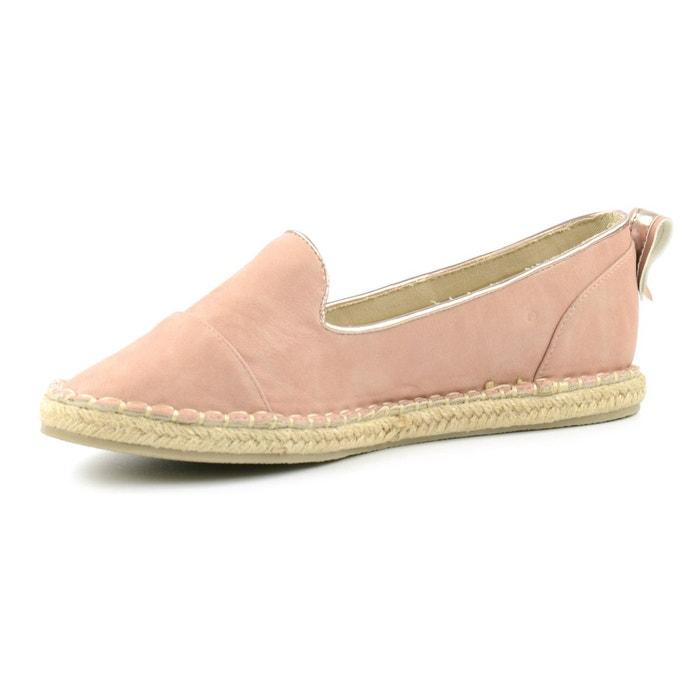 Espadrille loafers roze rose Sacha
