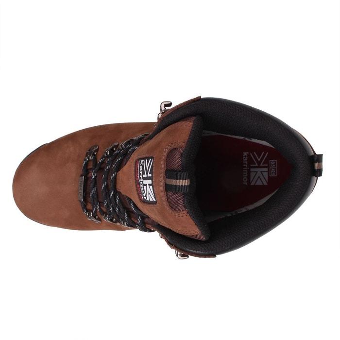Bottes de marche imperméables randonné marron Karrimor