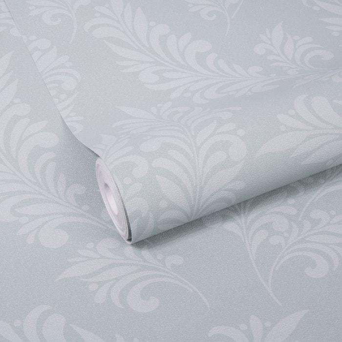 Feuille Gris Vert Papier Peint Intisse 10 M X 52 Cm Gris Graham Et