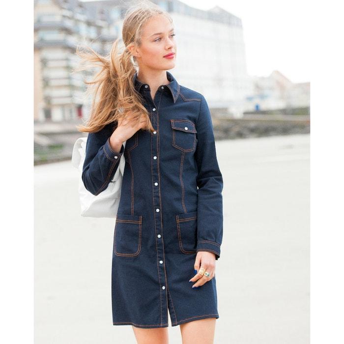 Image Denim Look Shirt  Dress MADEMOISELLE R
