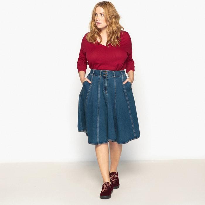 Image Jupe jeans patineuse CASTALUNA